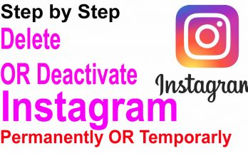 How to delete or deactivate your Instagram account?