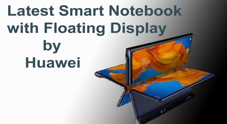 Latest Smart Notebook with Floating Display by Huawei